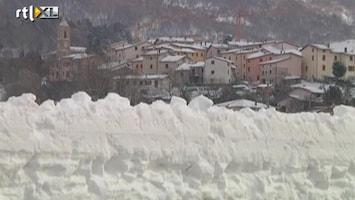 RTL Nieuws Italië bedekt onder dikke laag sneeuw