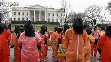 RTL Nieuws Protest tegen Guantanamo