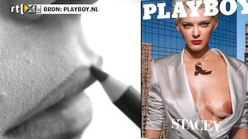 RTL Boulevard Stacey in de Playboy