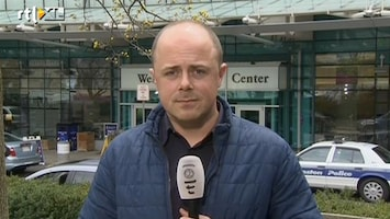 RTL Nieuws Verslaggever Koen de Regt in Boston