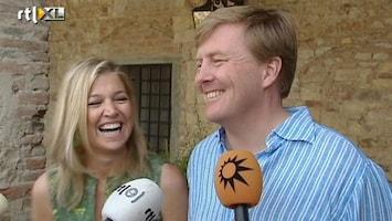 RTL Nieuws Uitgebreid interview prinselijk paar
