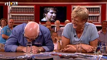 RTL Boulevard VI lacht om emotionele Toine van Peperstraten