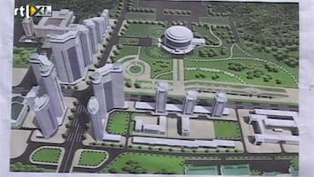 RTL Nieuws Beeld uit Noord-Korea van mega-bouwproject