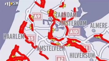 RTL Nieuws Sneeuw veroorzaakt veel overlast (2012)