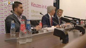 RTL Nieuws Partijen pronken met eigen pluspunten uit CPB-cijfers