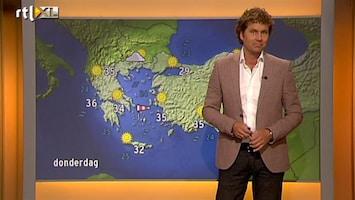RTL Nieuws Vakantieweer: Noord-Europa nat, heet in het zuiden