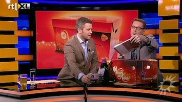 RTL Boulevard Kerstpakkettenactie RTL