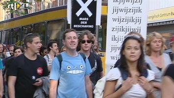 RTL Nieuws Mars tegen bezuinigingen cultuur