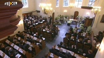 RTL Nieuws Beelden van begrafenis prins Friso