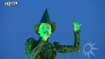 RTL Boulevard Musical Wicked bijna in premiere