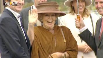 RTL Nieuws Koningin Beatrix terug naar school