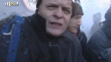 RTL Nieuws 2001: Protest neo-nazi's tegen kritische Wehrmachttentoonstelling