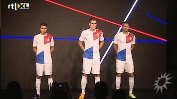 RTL Boulevard Nieuw tenue voor Nederlands elftal