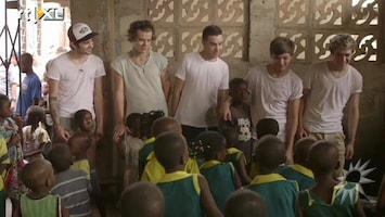 RTL Boulevard One Direction naar Afrika
