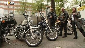 RTL Nieuws Rustige demonstratie Hells Angels