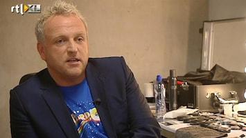 RTL Boulevard Gordon loopt boos weg bij X Factor