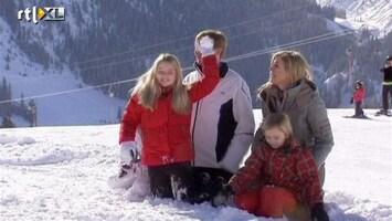 RTL Nieuws Amalia mag geen sneeuwbal gooien