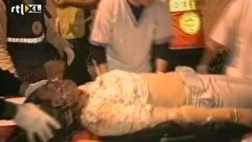RTL Nieuws 27-03-2002: Aanslag op hotel tijdens Pascha