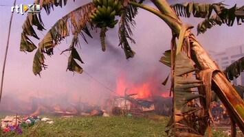 RTL Nieuws Sloppenwijk Bangladesh in vlammen opgegaan