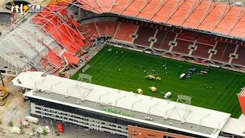 RTL Nieuws Weekoverzicht: Dak FC Twente-stadion ingestort