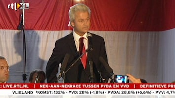 RTL Nieuws Wilders: Jammer, maar het is niet anders