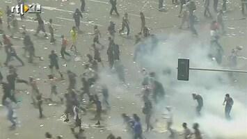 RTL Nieuws Clashes bij 24-uursstaking Griekenland