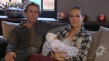RTL Boulevard Op babybezoek bij Michael Boogerd