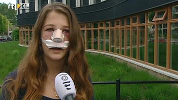 RTL Nieuws Meisje krijgt fles tegen hoofd, vader zoekt de dader via Facebook