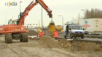 RTL Nieuws Bezuinigen op wegenbouw kost duizenden banen