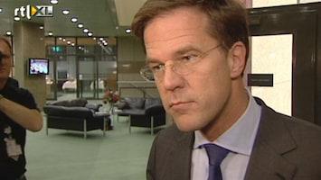 RTL Nieuws Rutte: Ik moet met meel in de mond praten