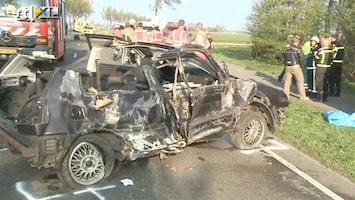 RTL Nieuws Ernstig verkeersongeluk in Opmeer