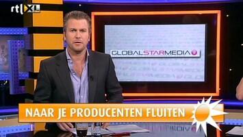 RTL Boulevard Caroline Tensen dupe van faillissement Global Star Media