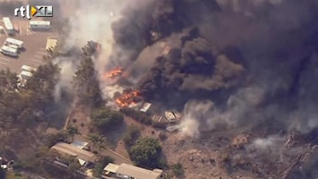 RTL Nieuws Felle bosbranden bedreigen huizen Californië