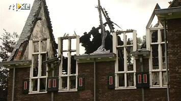 RTL Nieuws Brandstichter gemeentehuis Waalre gepakt