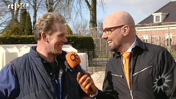 RTL Boulevard Maik de Boer aan het werk bij Boer Martin