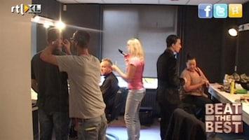 Beat The Best Backstage bij de jury en presentatie!