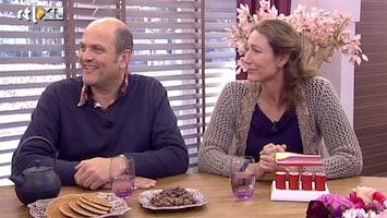 Koffietijd Pieter van de Rest en huisarts Carole