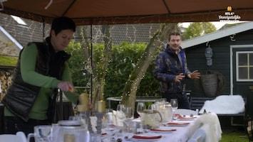 RTL 4's Onvergetelijke Feestdagen Bianca en Arnoud schakelen Ruben Nicolai in voor een buurtbarbecue