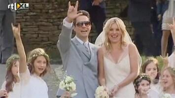 RTL Boulevard Kate Moss en Jamie Hince getrouwd