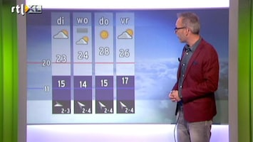 RTL Weer Buienradar Update 2 september 2013 16:00 uur