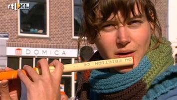 RTL Nieuws Levendige handel op vrijmarkt Utrecht