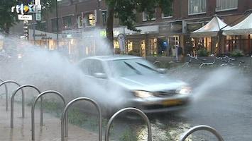 RTL Nieuws Stortbuien zorgen voor wateroverlast