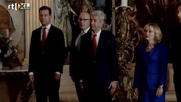 RTL Nieuws De beëdiging van de ministers van Rutte II