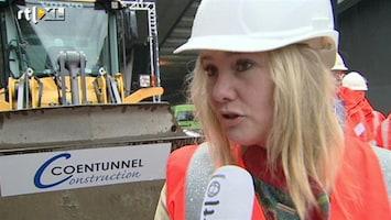 RTL Nieuws Nieuwe Coentunnel, oude files