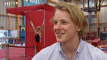 RTL Boulevard Epke Zonderland onthult zijn wassenbeeld