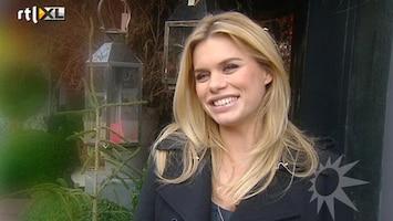 RTL Boulevard Interview zwangere Nicolette van Dam