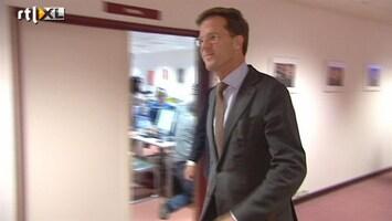 RTL Nieuws Oppositie: Rutte te afwezig bij beurscrisis