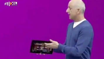Editie NL Au! Microsoft-tablet crasht bij presentatie