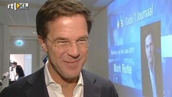 RTL Nieuws Rutte wéér politicus van het jaar