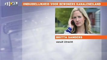 RTL Nieuws 'Onduidelijkheid voor bewoners Kanaleneiland'
